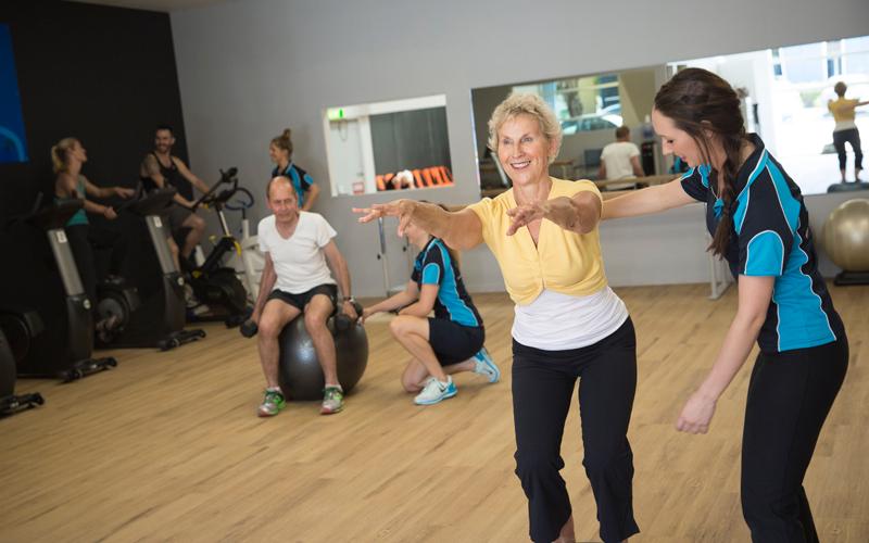 exercise physiology, group fitness cheltenham